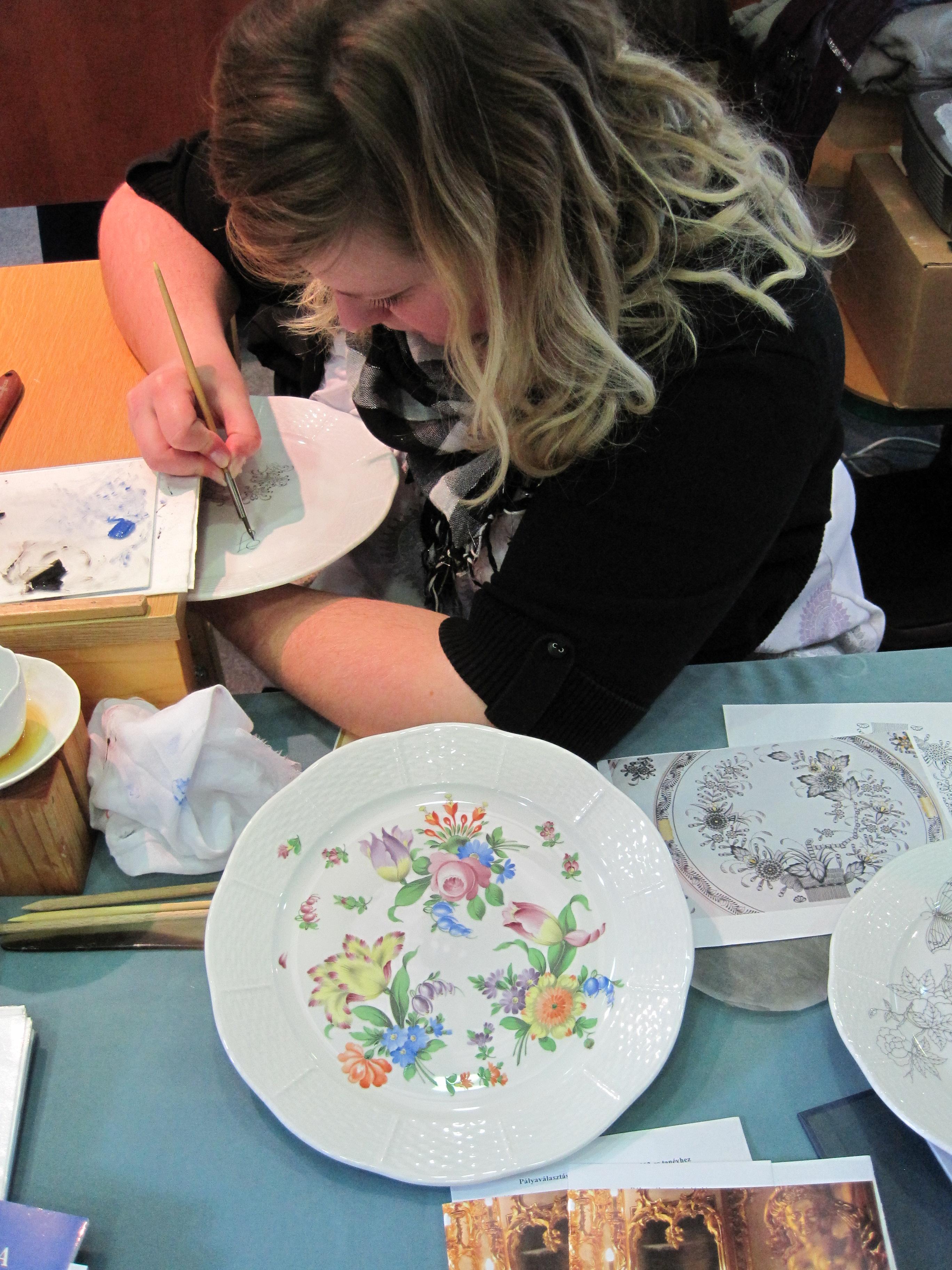 porcelánfestő